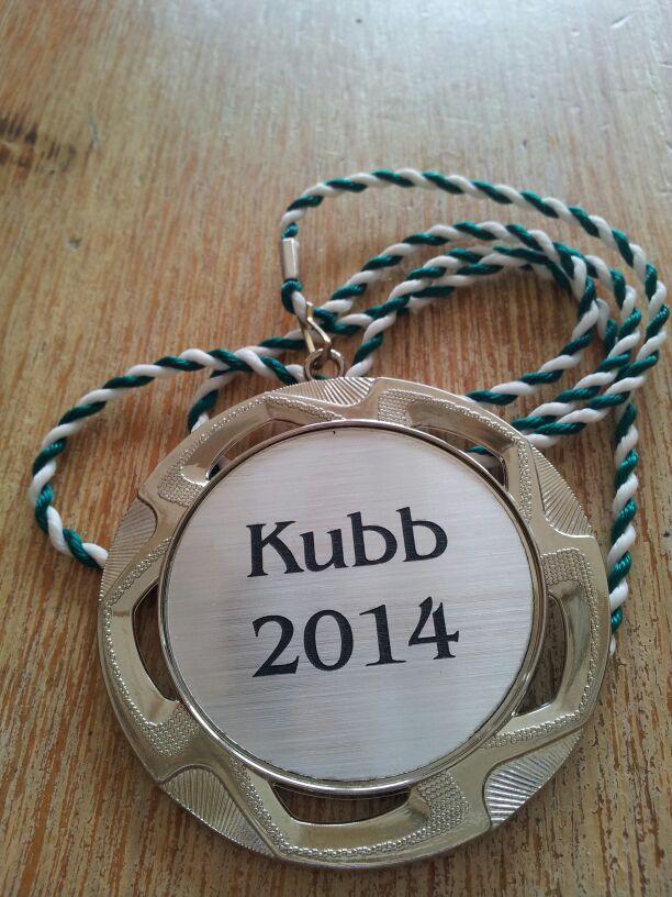 Medaille KUBB Tunier 2014